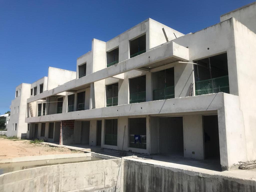 Planta baixa apto 204 - Duplex do Bloco B - piso 2